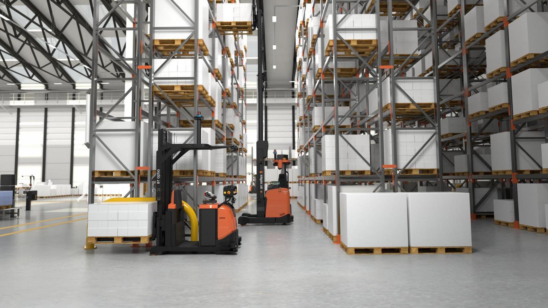 I trend e le nuove sfide della logistica integrata: la visione di Toyota Material Handling e di Stesi