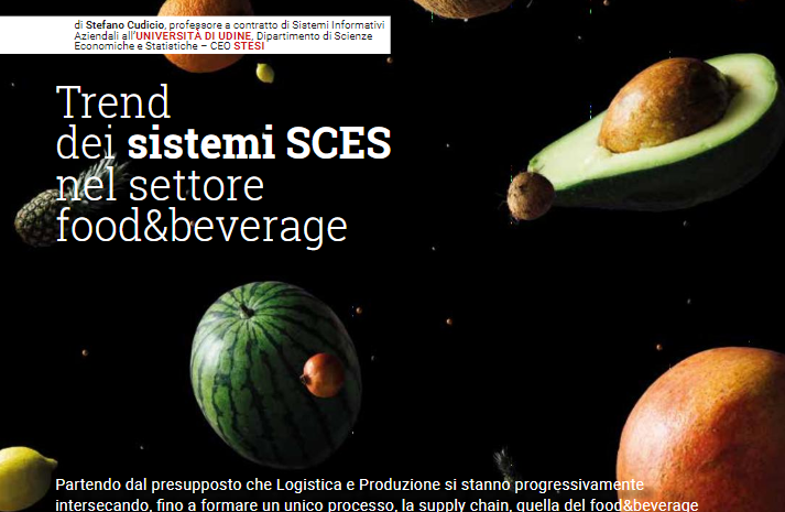 Logistica Management – Stefano Cudicio Parla Del Trend Dei Sistemi SCES Nel Settore Food & Beverage