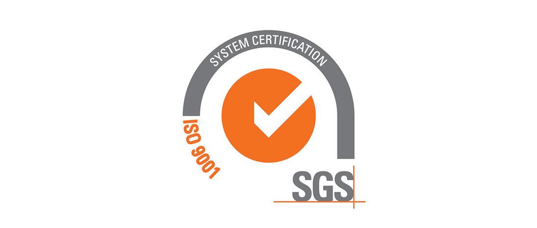Rinnovo Certificazione SGS ISO9001: 2015